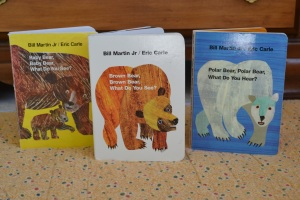 Jonathans Bookshelf Brown Bear Baby Bear Polar Bear