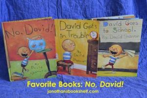 No, David by David Shannon | jonathansbookshelf.com